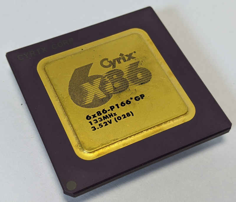 Cyrix 6x86-P166GP Prozessor