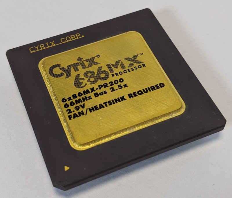 Cyrix 6x86-PR200 Prozessor