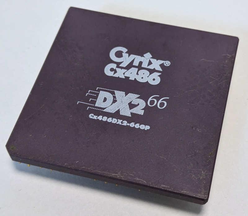 Cyrix Cx486DX2-66GP
