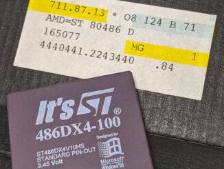 SGS Thomson 486DX4-100 Prozessor