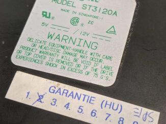 Seagate ST3120A Festplatte 106MB ATA IDE