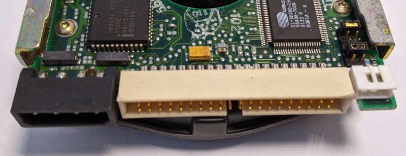Seagate ST3096A Festplatte 89MB IDE Jumper