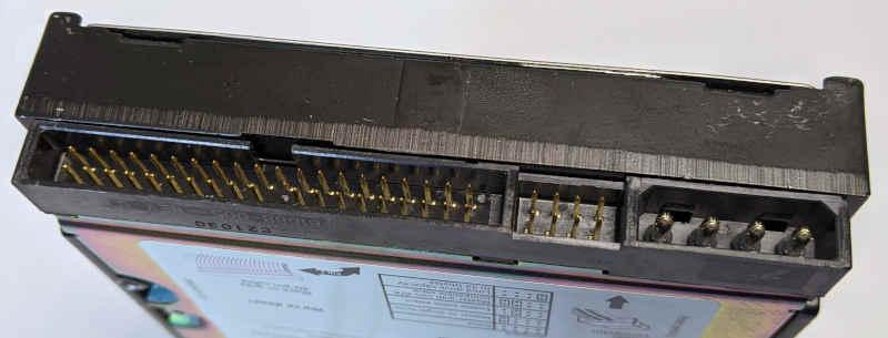 Seagate ST340016A Barracuda Festplatte 40GB Pins
