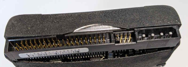 Seagate ST38421A Festplatte 40-Pin und Jumper