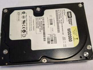 Western Digital Caviar WD2000 200GB HDD ATA