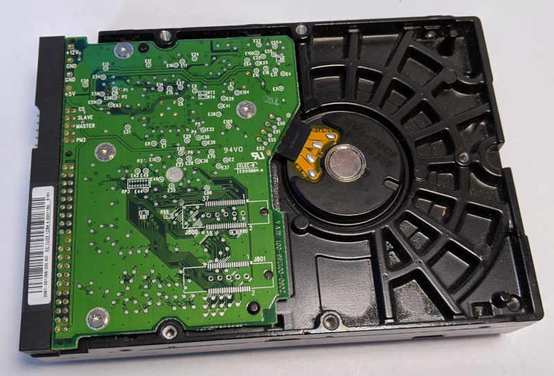 Western Digital Caviar WD2000 200GB HDD Platine