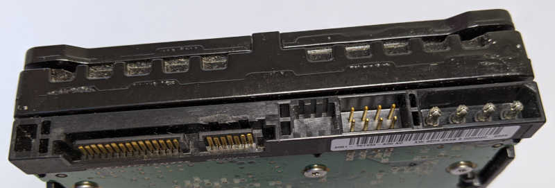 Western Digital WD1500AHFD Raptor X 150GB Pins