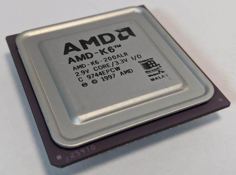 AMD K6-200ALR_Prozessor C9744EPCW 25910