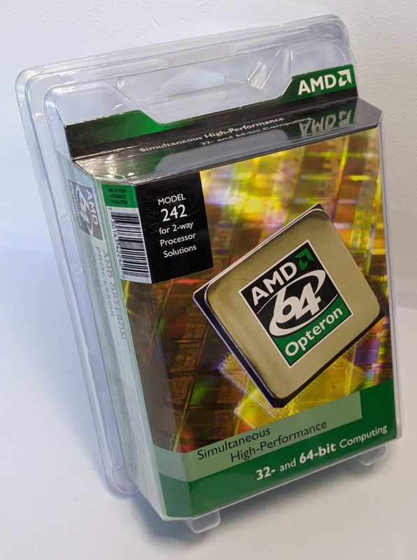 AMD Opteron 242 OSA242CEP5AU Box OVP
