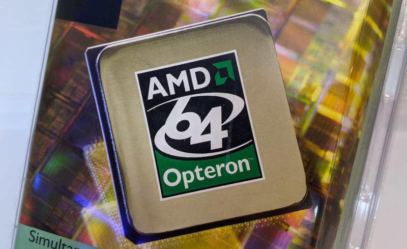 AMD Opteron 242 OSA242CEP5AU 64-Bit Logo