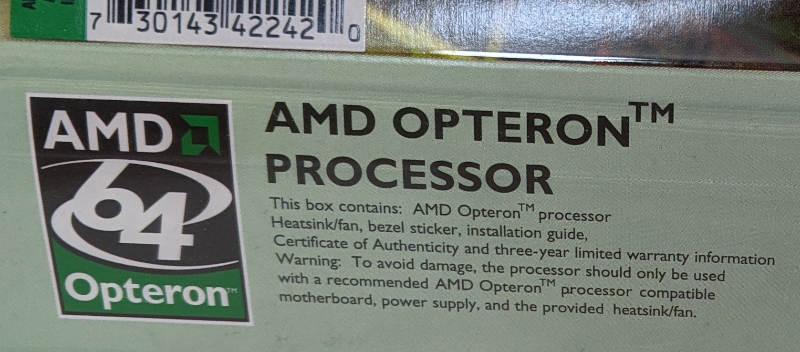 AMD Opteron 242 OSA242CEP5AU 64-Bit