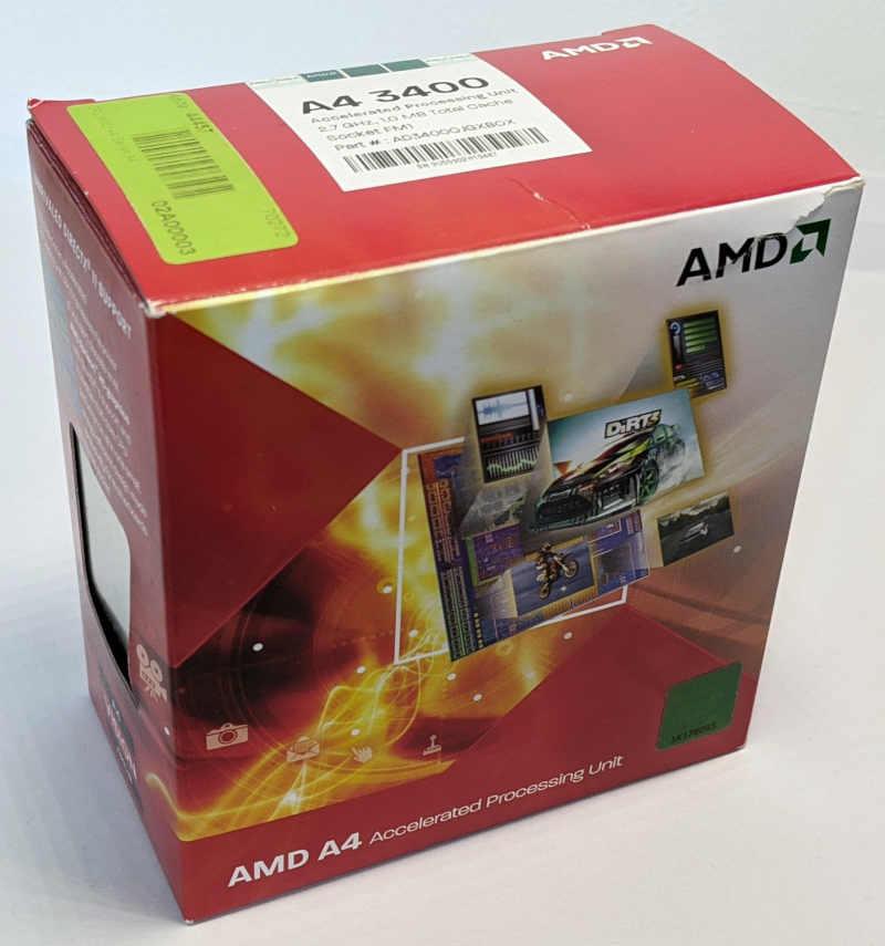 AMD Prozessor A4-3400 Fusion AD34000JZ22GX Boxed
