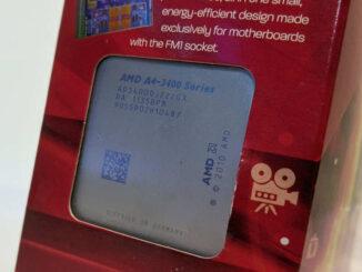 AMD Prozessor A4-3400 Fusion AD34000JZ22GX Blister