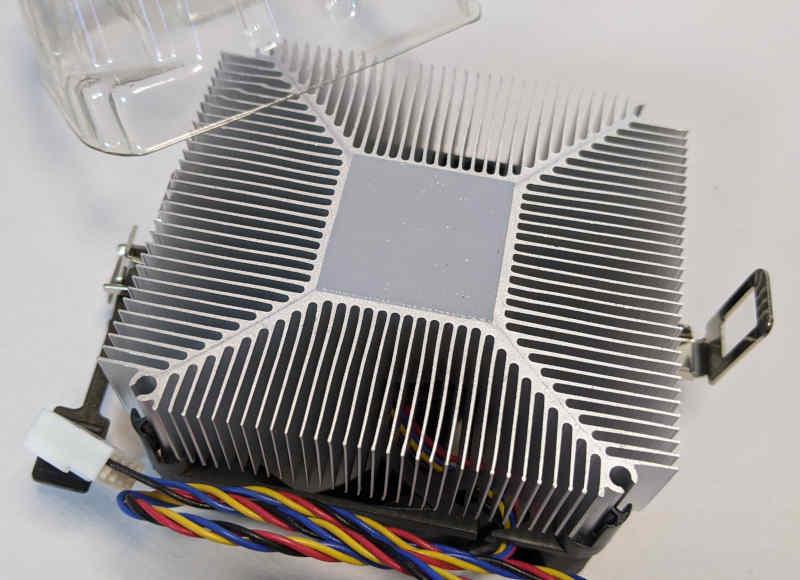 AMD Prozessor A4-3400 Fusion AD34000JZ22GX Wärmeleitpaste