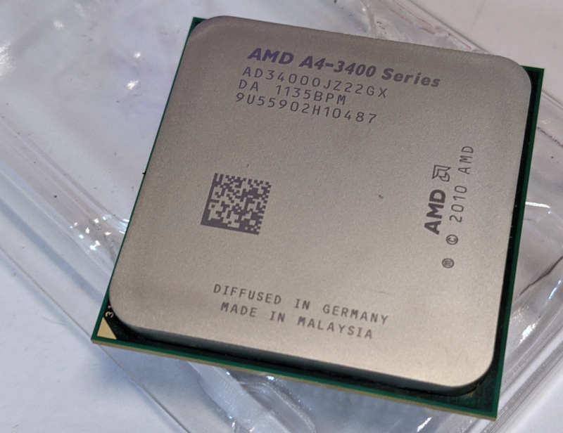 AMD Prozessor A4-3400 Fusion AD34000JZ22GX