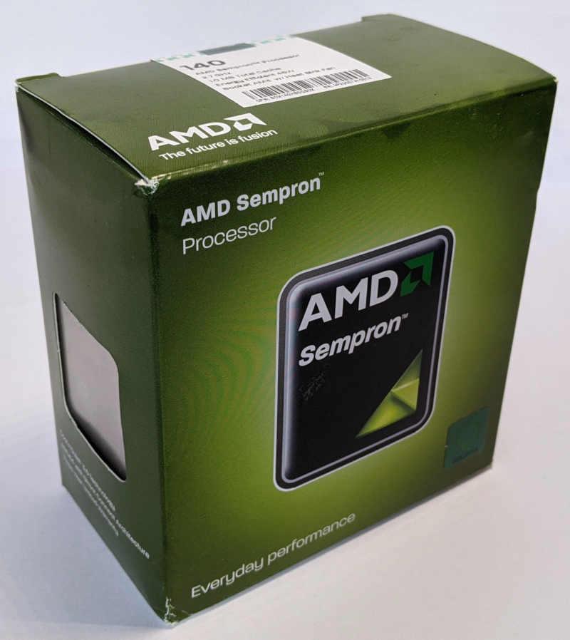 AMD Sempron 140 Prozessor 2,7GHz Originalverpackung