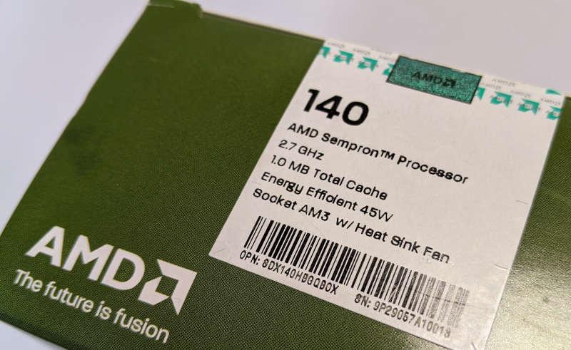 AMD Sempron 140 Prozessor 2,7GHz SDX140HBK13GQ