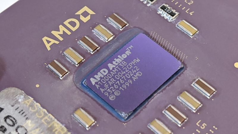 AMD Athlon 1GHz Prozessor A1000AMT3B - AJFAR0042CPMW