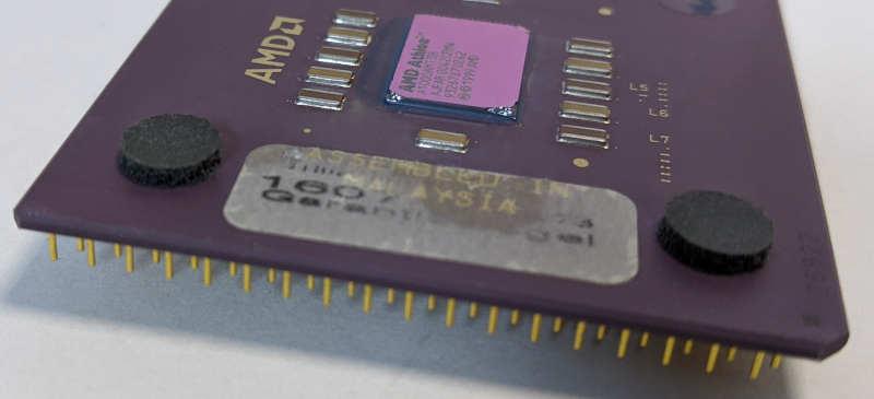 AMD Athlon 1GHz Prozessor A1000AMT3B - Garantiesiegel