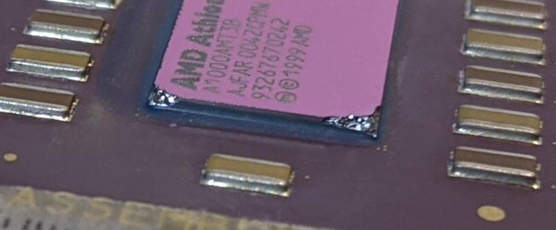 AMD Athlon 1GHz Prozessor A1000AMT3B - Bruch
