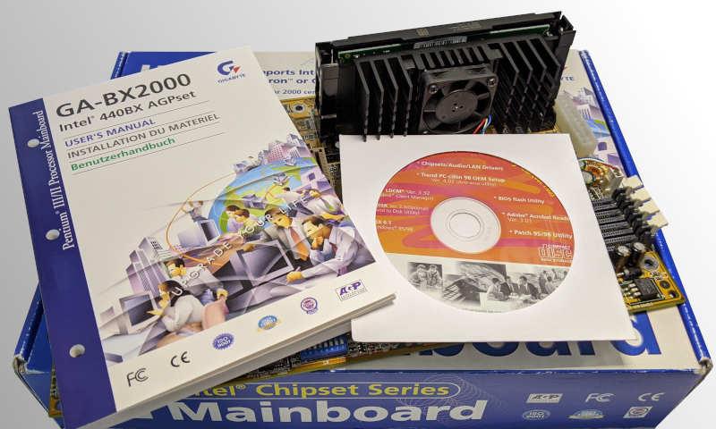 Gigabyte Mainboard GA-BX2000 Slot1 Handbuch
