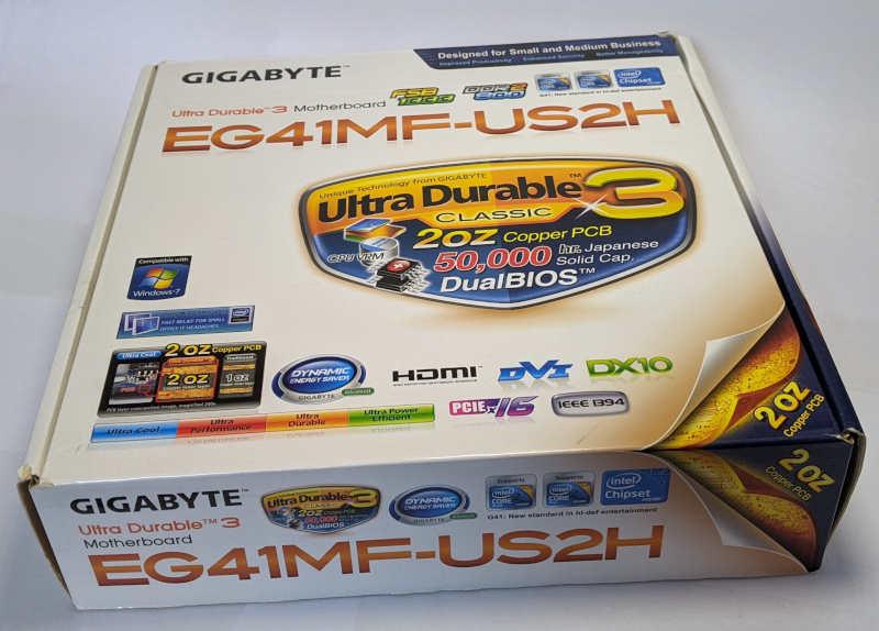 Gigabyte PC-Mainboard GA-EG41MF-US2H Originalverpackung