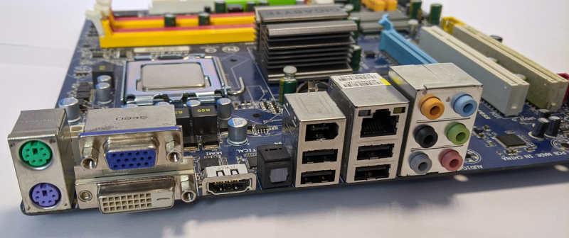 Gigabyte PC-Mainboard GA-EG41MF-US2H Schnittstellen