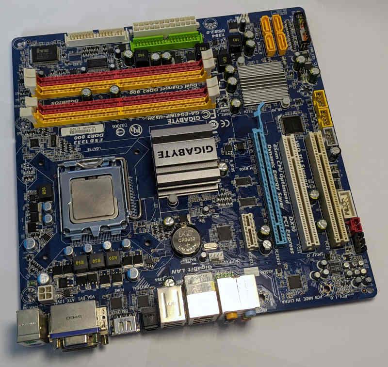 Gigabyte PC-Mainboard GA-EG41MF-US2H