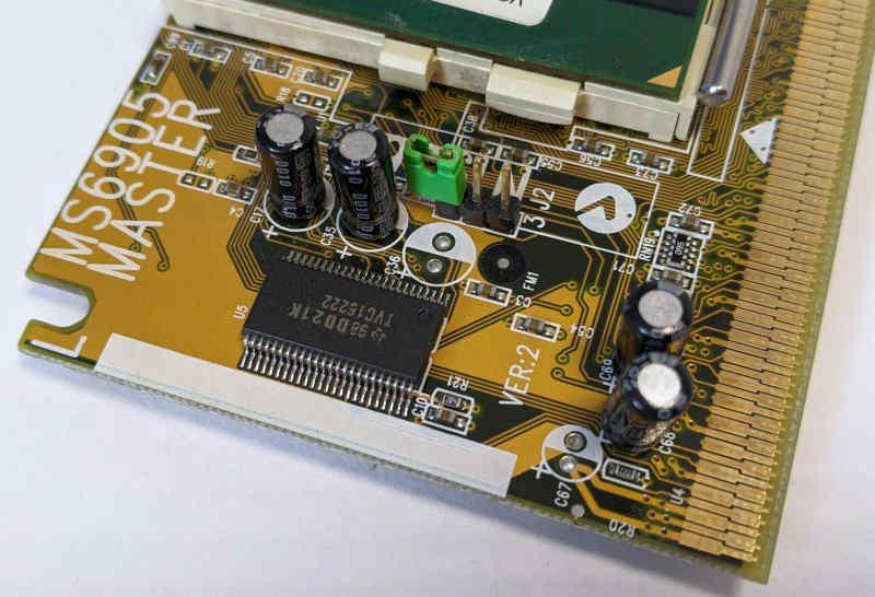 Intel Pentium III SL3VJ Prozessor Adapter Slot 1 Jumper