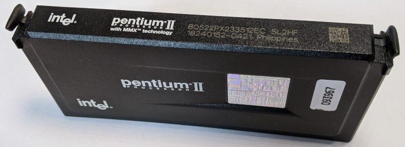 Intel Pentium II 233 80522PX233512EC SL2HF Slot 1