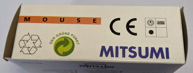 Mitsumi PC-Maus PS/2 Model ECM-S3102