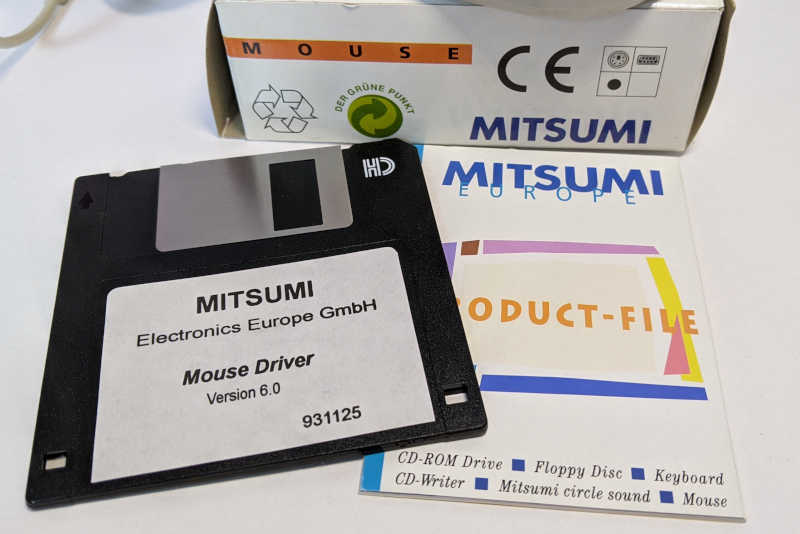 Mitsumi PC-Maus PS/2 Maustreiber 931125