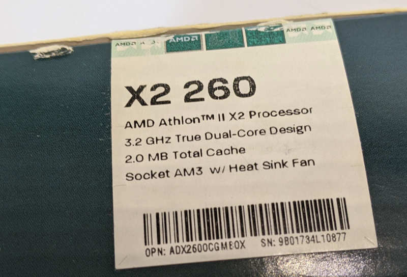 AMD Athlon II X2 260 Multi Core Prozessor 3.2GHz