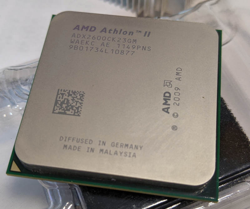 AMD Athlon II X2 260 Multi Core Heatspreader