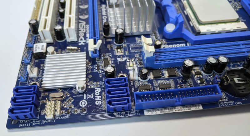 Asrock PC-Mainboard 880GM-LE Sockel AM3 SATA IDE