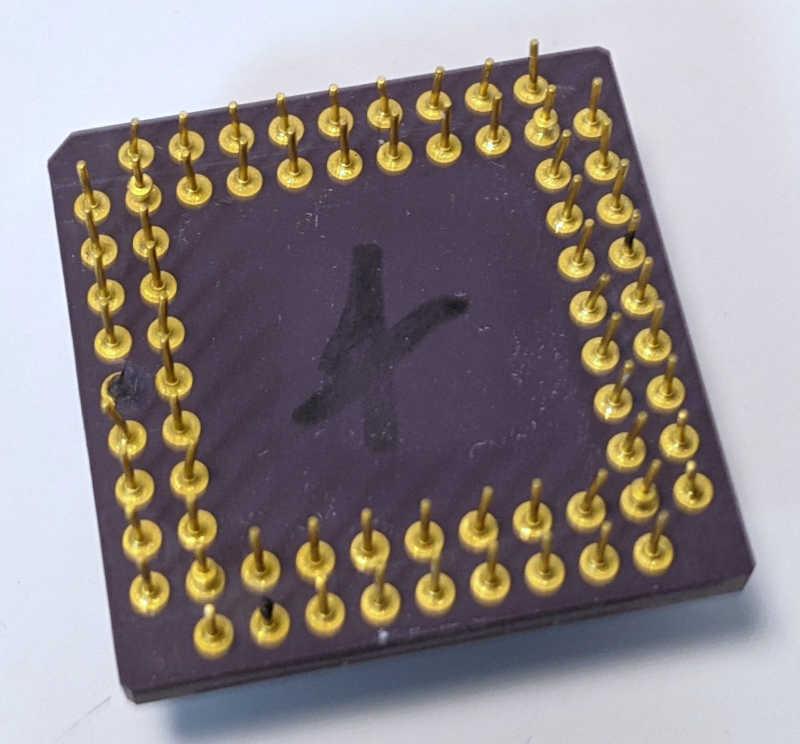 Cyrix 387DX-33 FasMath CX-83D87 Koprozessor AHE226F Pins