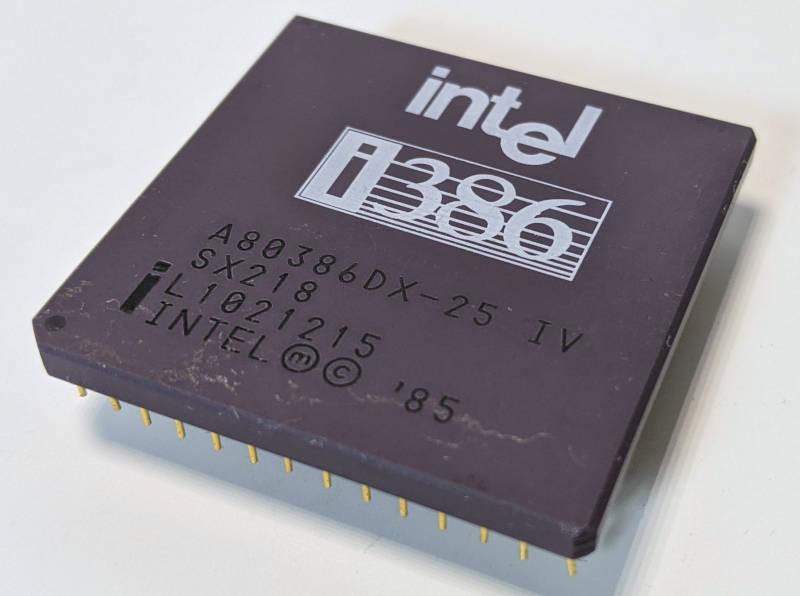 Intel i386DX-25 Prozessor - SX218 - L1021215