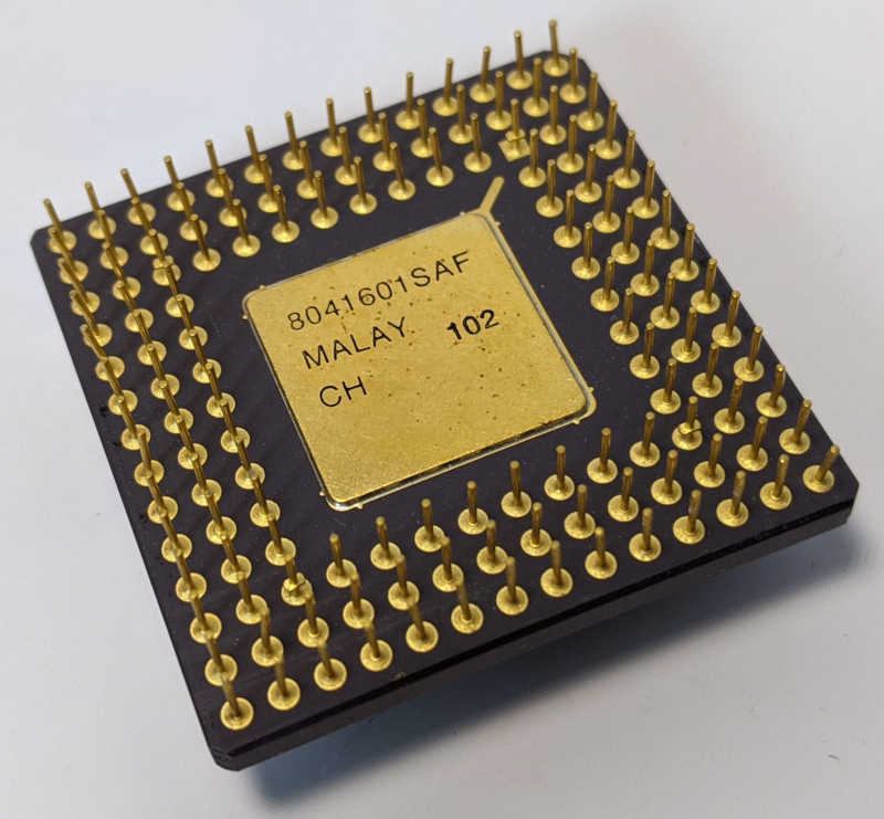 Intel i386DX-25 Prozessor - SX218 - 8041601SAF Pins