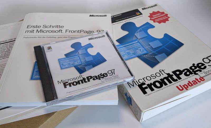 Microsoft Frontpage 97 Update CD Handbuch