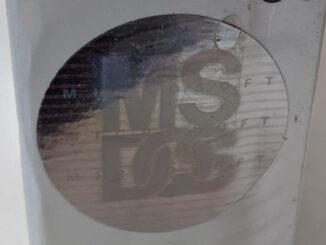 Microsoft MS-DOS 5 Deutsch Hologramm