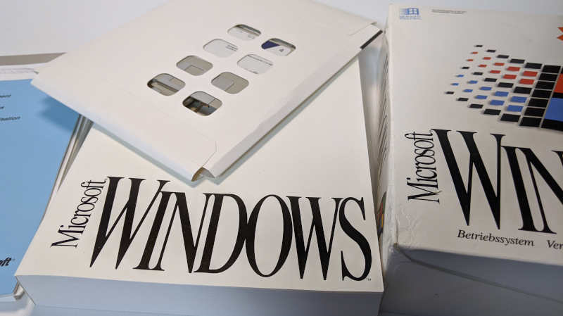 Microsoft Windows 3.1 Betriebssystem Disketten Handbuch