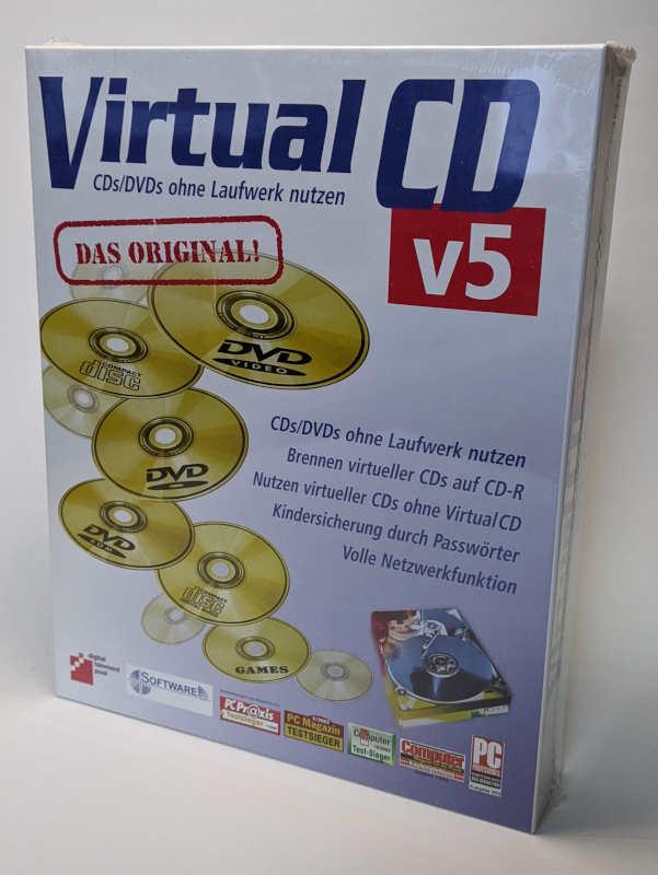 Virtual CD v5 Software Originalverpackung