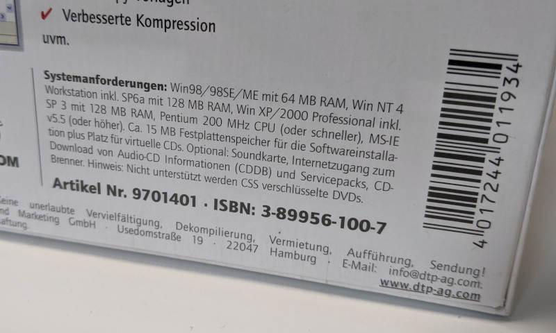 Virtual CD v5 Software Systemanforderungen