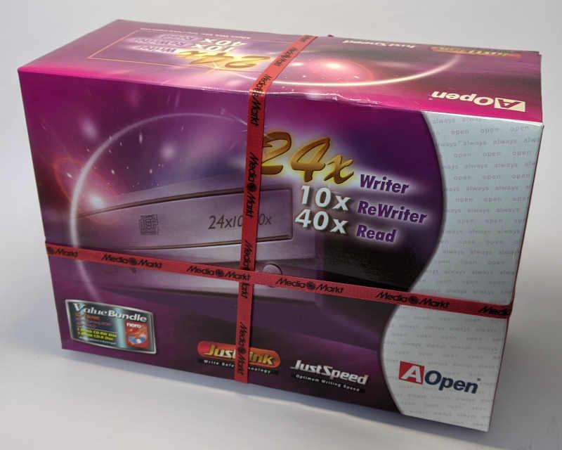 AOpen CRW2440 91.60D37.011 CD Recorder - Media Markt