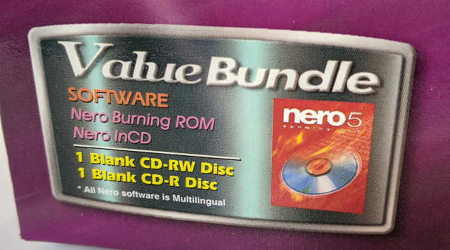 AOpen CRW2440 91.60D37.011 CD Recorder - Nero 5 Software Bundle
