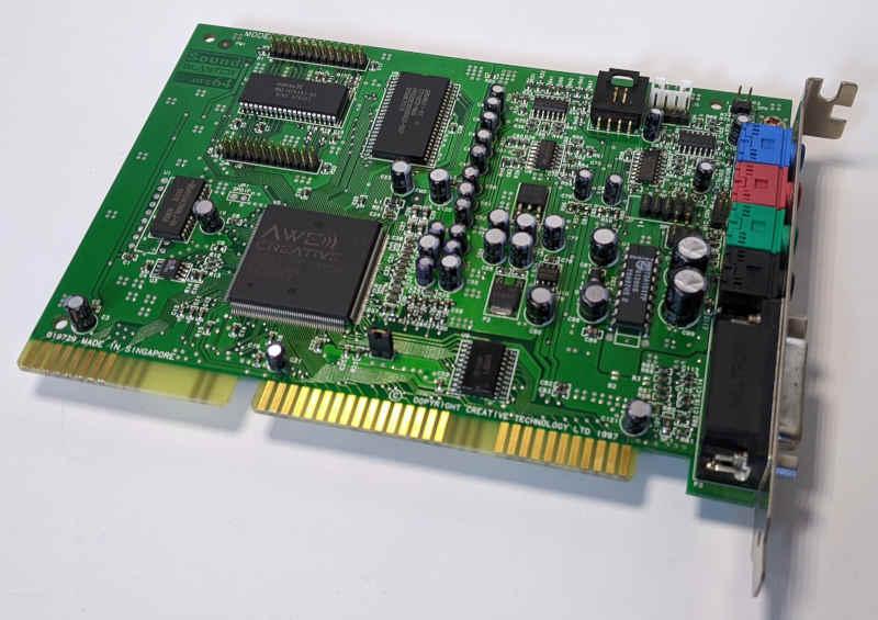 Creative Labs Soundblaster AWE64 ISA Soundkarte CT4520
