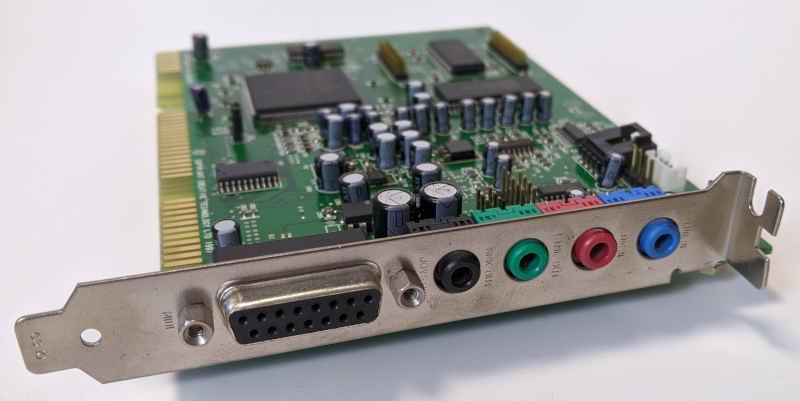Creative Labs Soundblaster AWE64 ISA Schnittstellen