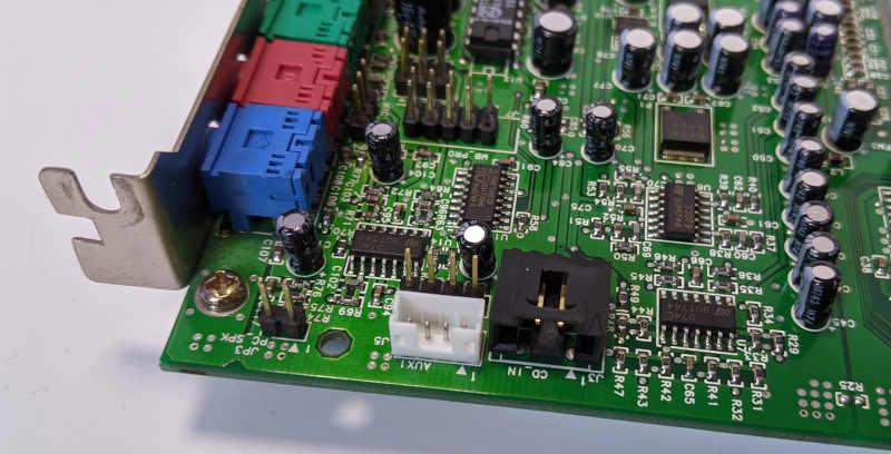 Creative Labs Soundblaster AWE64 Audio-AUX-Ports