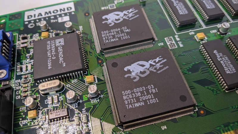 Diamond Monster 3D 3dfx Voodoo1 4MB PCI 500-0003-03