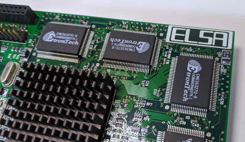 ELSA Victory II mit Voodoo Banshee 3Dfx EtronTech RAM